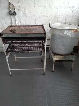 Se vende entable para fabrica de arepas