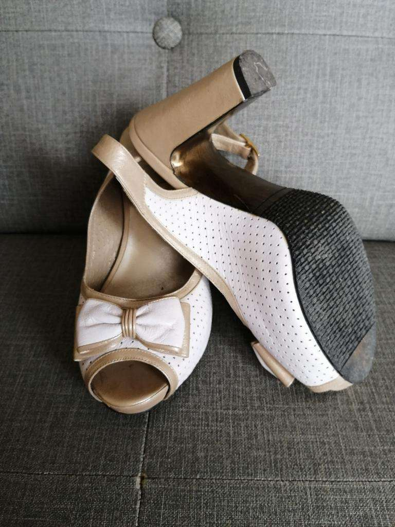 Zapato,blanco Elegante 0