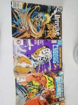 Vendo Comics usados de los 80 y 90 la mayoría de DC COMICS y otros