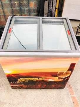 Congelador ahorrador tapa vidrio