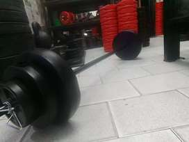 Kit body pump 17kg funcional,barra reforzada $4600, z/recoleta