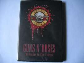 guns n roses welcome to the videos dvd sellado