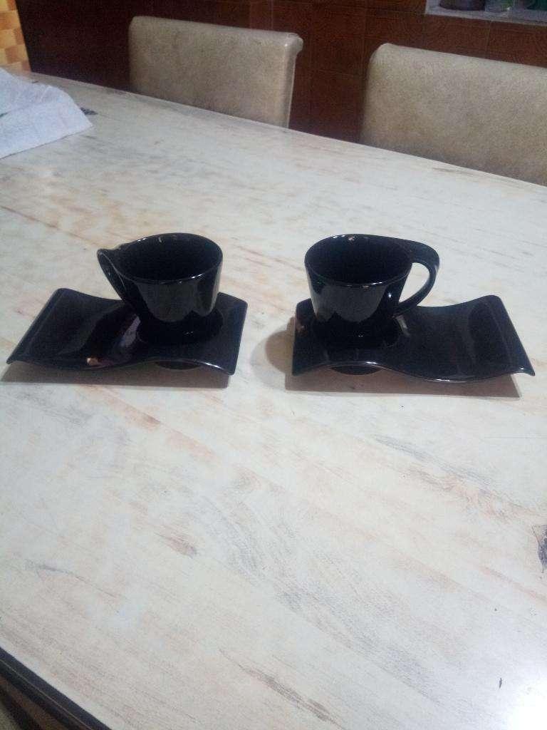 Taza Y Portataza de Ceramica 0
