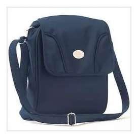 Pañalera Compac Bag, Tipo Bolso De Avent Viajera Microfibra