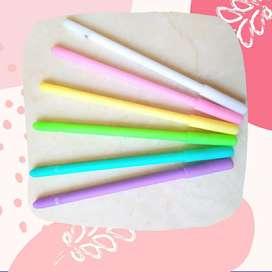 Bolígrafos Micropunta de colores