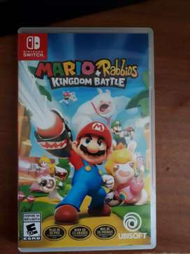 Vendo juego de Nintendo switch Mario kingdom battle
