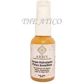 Serum Hidratante Pieles Sensibles con Aloe Vera, Avena & Malva