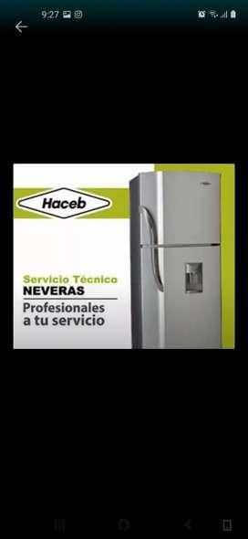 Servicio tecnico en refrigeración neveras lavadoras secadoras filtros se agua aire acondicionado esplit de ventanas  etc