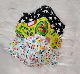 3-Pack Barbijos Infantiles