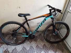 Vendo bicicleta venzo primal ex