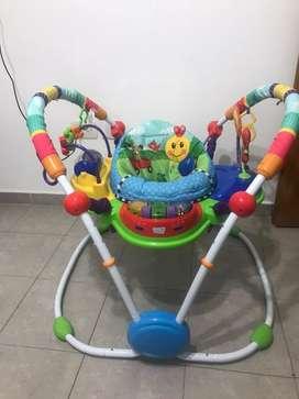 Jumper/ Saltarin y centro de actividades para bebés