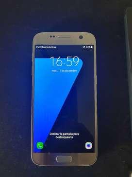 Samsung S7 Flat Plateado 32gb 4gb ram Libre