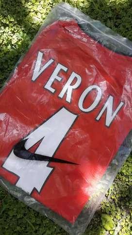 Camiseta  Veron  Manchester  talle M