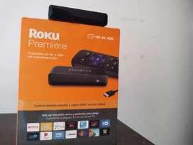 Se vende ROKU PREMIERE FULL HD/4K/HDR