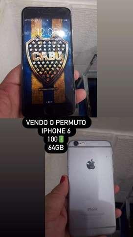 Vendo o permuto  iphone 6