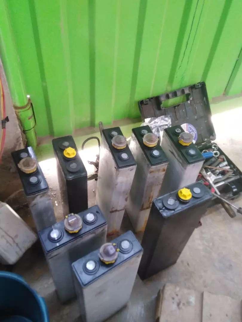 Montacargas apiladores baterías 0