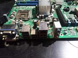 Board ddr2 775 Intel