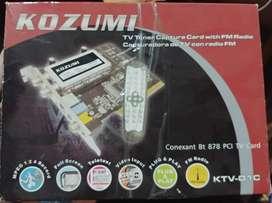 Sintonizadora De Tv Y Radio Fm Kozumi --- $1.000