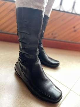 Botas negras dama talla 38