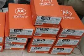Vendo celular moto e6 plus con 32g d memoria interna color rojo nuevo en caja sellada