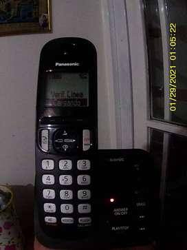 vendo teléfono inalambrico panasonic