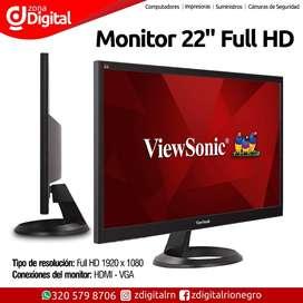 Monitor 22pulgadas FullHD 1080p ViewSonic