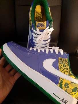 Nike air forcé 1 Ronaldinho nuevas y originales 10US jordan