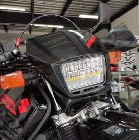 Faro Farola Led para Suzuki DR 650 + Kit de Instalación