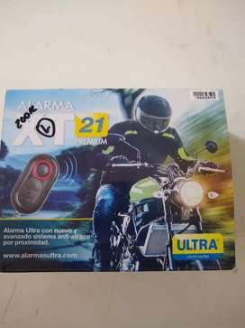 Alarma ultra para moto