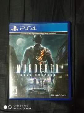 Ps4 Juego Murdered