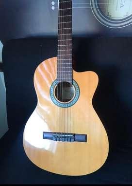 Guitarraibañez -ga3ece-am AMBER HIGH GLOSS ¡oferta! $950.000 Forroduro 9/10