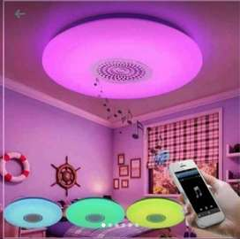 Luz Led con Parlante Bluetooth
