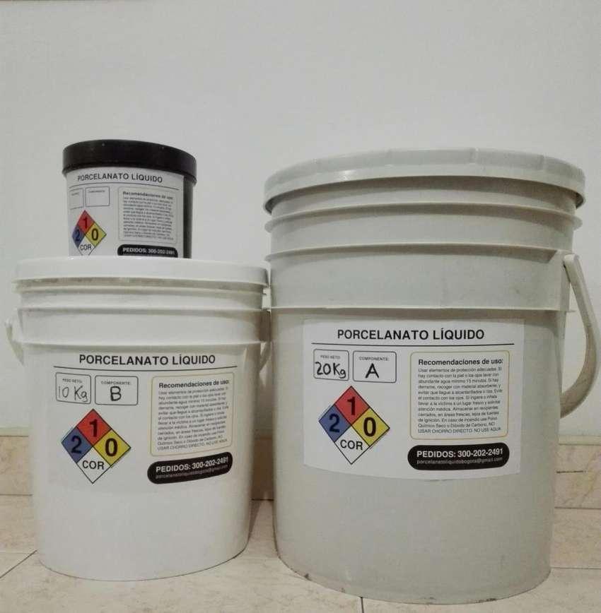 Porcelanato líquido x kilos 0