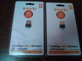 VENDO TARJETA MARCA TENDA  INALAMBRICA WIRELESS 802  USB