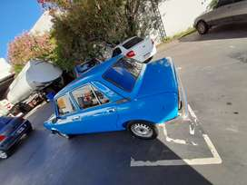 Fiat 128 con fierros