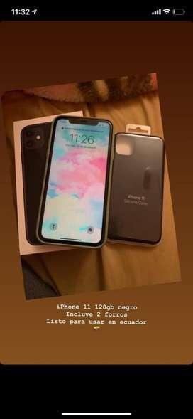 Vendo iphone 11 128gb negro