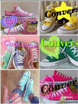 CONVERSE diversos colores caña baja y alta