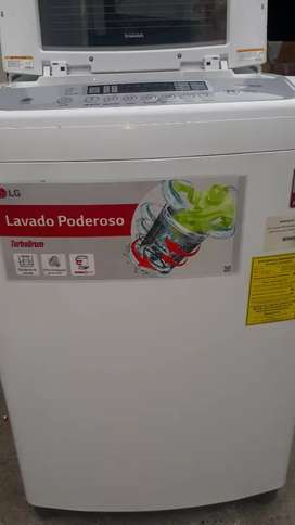LAVADORA LG 16 KG DIAMOND GLASS