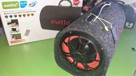 Bocina Bluetooth ewtto