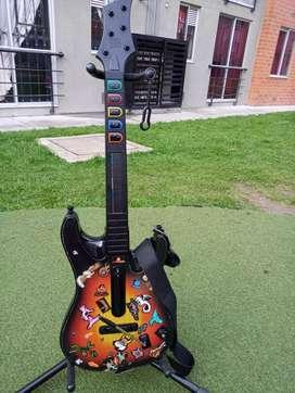 Guitarra Guitar Hero Xbox 360, excelentes condiciones