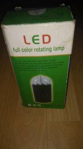 Lámpara Rotativa de Colores