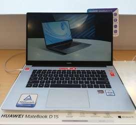 Nueva Laptop Huawei D15 • 256GB • AMD Ryzen 5 3500U •