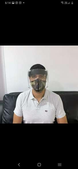 Máscaras protección policarbonato