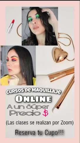 Cursos de Maquillaje virtuales