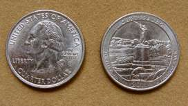 Moneda de 25 cents de dólar Estados Unidos 2011