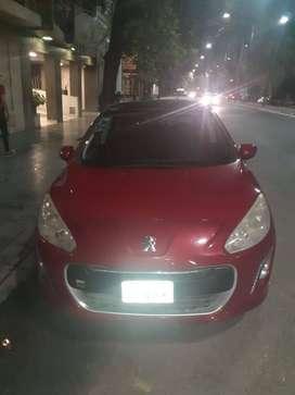 Vendo Peugeot 308, recibo auto de menor valor