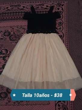 Vestido de Niña Talla 10