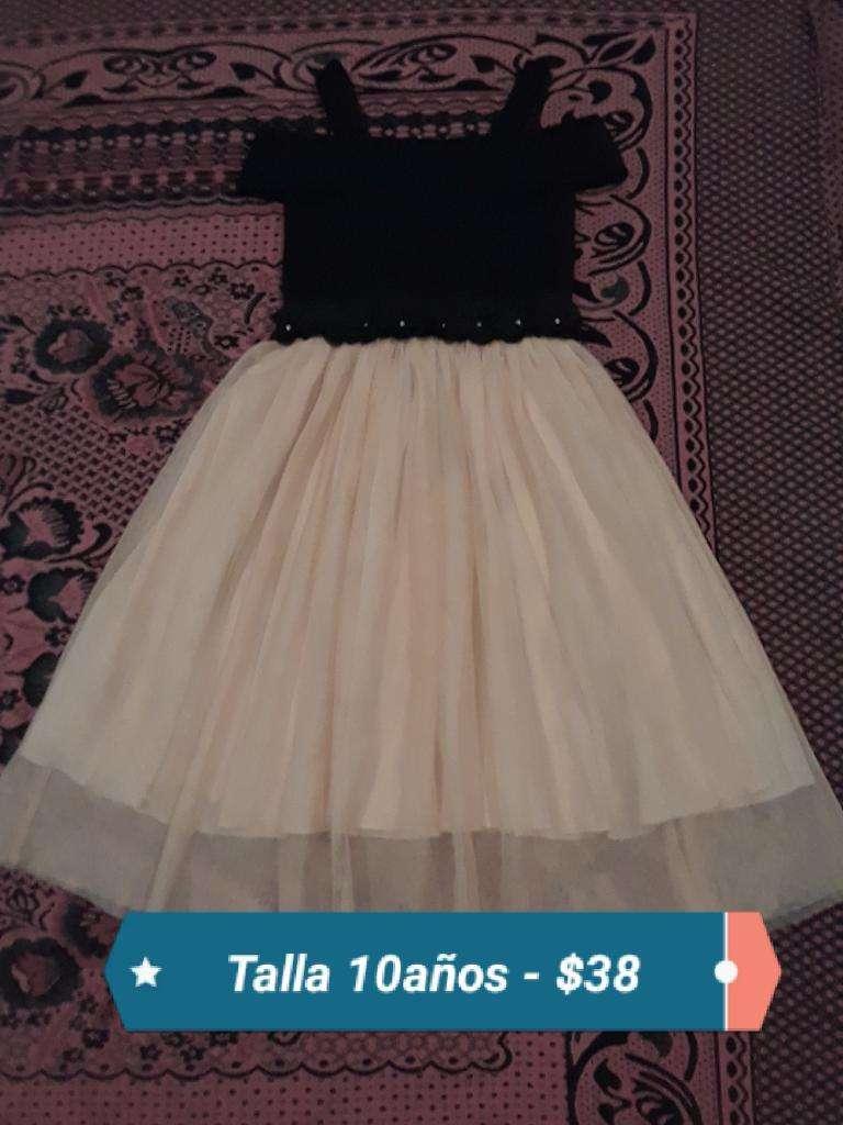 Vestido de Niña Talla 10 0