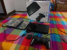 PS2 Usado + 1 control + 3 juegos y memory card de 8 MB, playstation 2