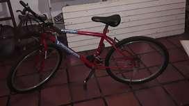 Vendo bicicleta todo terreno.